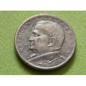 Moeda De 50 Centavos 1954 Presidente Dutra Brasil (ref 2101)