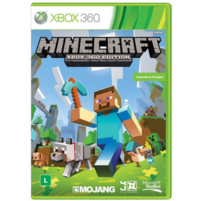 Jogo Xbox 360 Minecraft Midia Física