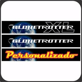 Adesivo Faixa Globetrotter Original / Personalizado