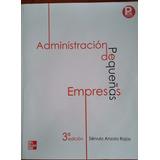Administración De Pequeñas Empresas, Anzola Rojas,3a. Edc.