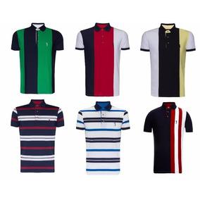 Camisa Polo Aleatory Original Listra Vertical Masculina. Minas Gerais · Kit  7 Polos Listradas Aleatory 6e7d7f0c28e