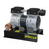Compressor De Ar P/ Poço 80m Isento De Óleo Schulz Csd5 Hc