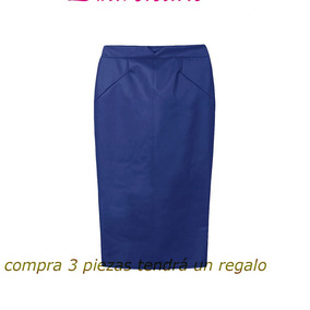 94760ffc49 Comoda Falda Larga Tipo Midi Plomo Oscuro Sonata - Faldas de Mujer ...