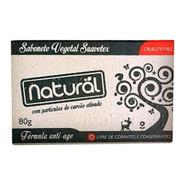 Sabonete Vegetal Natural Suavetex Com Carvão Ativado 80g