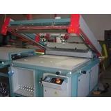 Impressora Serigráfica Completa.vídeo Da Maquina Funcionando