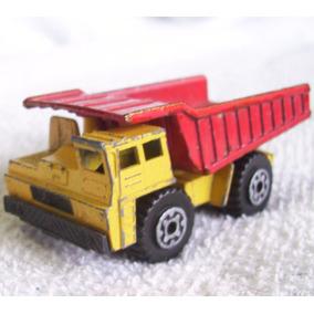 Dump Truck Tipo Lesney Matchbox China 92, Camion Volteo Mina