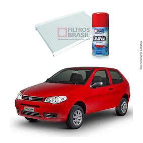 Kit Filtro Ar Condicionado Higienizador Palio Fire 01/12