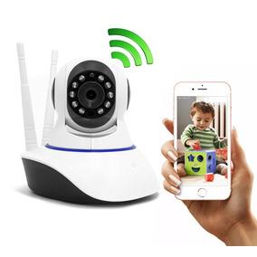Câmera Segurança E Babá Eletrônica Ip Hd 720p Wireless Wifi