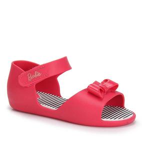 Sandália Infantil Grendene Barbie - 17 Ao 25 - Pink