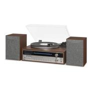 Vitrola Orpheus Toca Discos Cd Bluetooth Gravação Fm Raveo