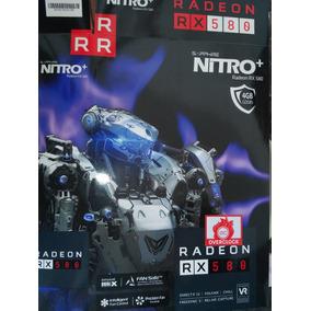 Tarjeta De Video Sapphire Nitro+ Rx580 4gb Ddr5