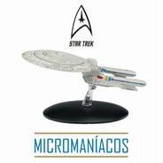 Uss Enterprise Ncc-1701d Star Trek Eaglemoss - Frete Grátis