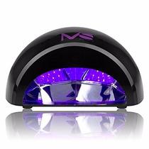 Lámpara Uv Secador Para Uñas Led 12w Hogar Salón Profesional