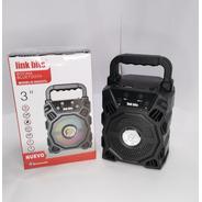 Bocina Bluetooth Portatil Con Radio Fm,usb,sd /va333