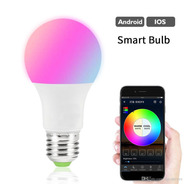 Lampara Smart E27 Led Multicolor 20w Wi-fi Rgb Android Nuevo