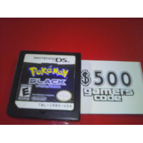 Pokemon Black Version Sin Caja Para Nintendo Ds