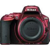 Cámara Réflex Digital De Nikon D5500 (cuerpo Solamente, Rojo