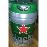 Barril De Cerveza Haineken 5 Litros