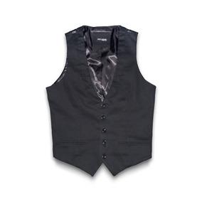 Chaleco Casual De Vestir John Leopard Slim Fit