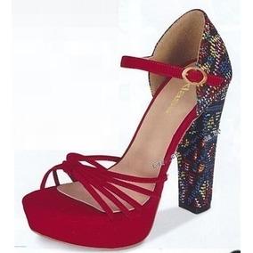 Zapatillas Cklass Rojo/negro..outlet/saldos Mchn
