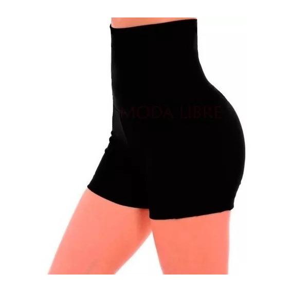 Shorts Modelador Faja 22cm 100% Lycra Mujer T Standar Xs- Xx
