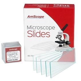 Amscope Bs-72p-100s Piezas De Limpiadores De Microscopio En