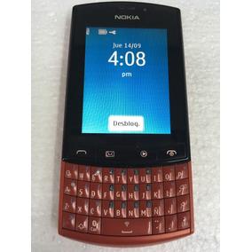 Nokia Asha 303 Rojo Funcionando