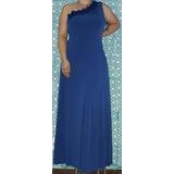 Vestido De Festa Plus Size C/echarpe Madrinhas/mães(até 54)