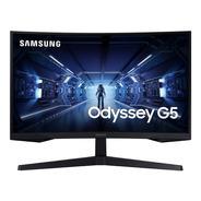 Monitor Samsung G55 Odyssey 27 144hz 1440p Curvo Gamer Pc