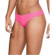 Ropa Interior Under Armour Tanga Pure Stretch Mujer Pack X3