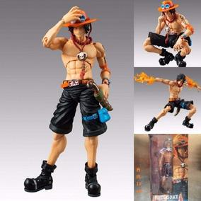 Action Figure - Ace One Piece 18cm Articulado - Importado