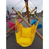 Rede Cadeira Teto Balanço Dunas Verão T 100% Algodão