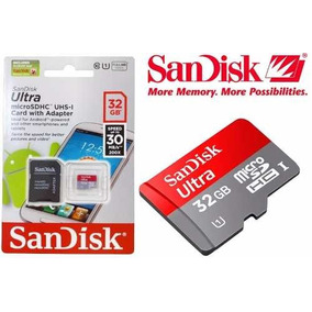 Cartao De Memoria Micro Sd 32gb Sandisk Ultra *promocao Top*