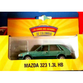 Carro A Escala 1:43 Mazda 323 1.3l Hb Color Verde