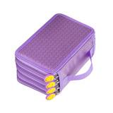 Capacidad 4 Capas Bolsa De Almacenamiento Púrpura