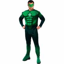 Fantasia Lanterna Verde Hal Jordan C/ Luzes E Musculos Rubie