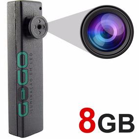 Botão Espião Micro Camera Escondida Igual Caneta 8gb I 006