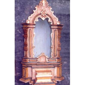 Ca16438 - Oratório Barroco Para Imagem 50cm - Altar Sacro
