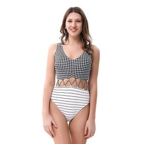 a0c654afd Pantalones De Mujer Una Sola Pieza - Trajes de Baño en Mercado Libre ...
