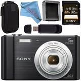 Sony Cyber-shot Dsc-w800 Dscw800 Cámara Digital (negro) Sony