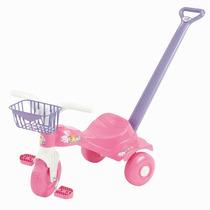 Triciclo Infantil Tico Tico Fani Com Haste - Magic Toys 2121