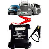 Auxiliar De Partida Portátil Bateria 12v E 24v Caminhão Carr