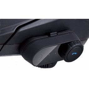 Intercomunicador Bluetooth Moto Mp3 Unitário Para Capacete