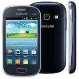 Samsung Galaxy Fame Duos Gt-s6812b Azul 5mp 4gb Dual Chip 3g