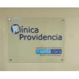 Letrero Acrilico Oficina, Señaletica, 60x30, Instalado
