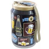 Cooler 24 Latas De Cerveja Vintage Creme Marca Dr, Cooler