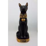 Estátua Gato Bastet Egípcio (19 Cm)
