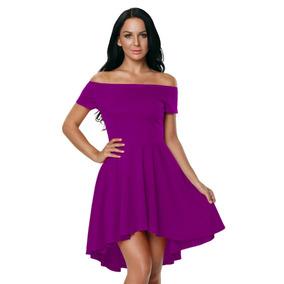 Vestido Corto Premium Coctel Bautizo Boda 9 Colores
