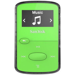 Reproductor Mp3 Sandisk Clip Jam 8gb Mp3 Running Color 100%