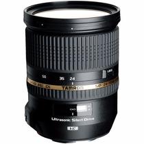 Lente Tamron Sp 24-70 Mm F/2.8 Di Vc Usd Canon Nova Nf 12x